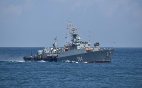 Picture ship, Navy, anti-submarine, small, Muromets, project 1124m