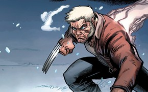 Picture Snow, Wolverine, Logan, Comic, Claws, Wolverine, Logan, Snow, Marvel, Marvel Comics, Comics, Marvel, Comics, James …