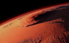 Picture Orbital view, Mount Olympus, Land Area