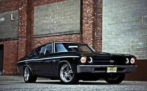 Picture Muscle, Car, Classic, Chevy, Chevelle SS