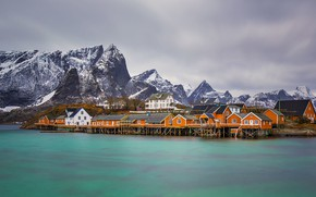 Picture home, Norway, The Lofoten Islands, lore