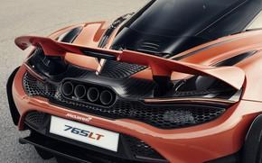 Picture McLaren, 2020, 765 LT, 765 HP, 765LT, active wing