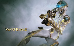 Picture weapons, soldiers, Warframe