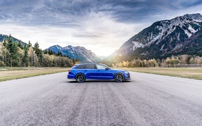 Picture Audi, 2018, ABBOT, universal, RS6, Nogaro Edition