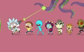 Picture Smith, Cartoon, Sanchez, Rick, Rick and Morty, Rick and Morty, Morty, Rick Sanchez, Morty Smith