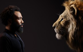 Picture background, Leo, male, beard, The Lion King, The Lion King