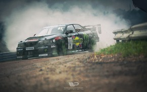 Picture Auto, Smoke, Machine, Drift, Toyota, Rendering, Chaser, Toyota Chaser, Polischuk Who Stayed, by Kal'yan Polischuk, …