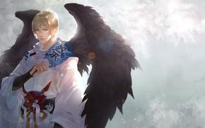 Picture Angel, guy, Onmyouji, Onmedia