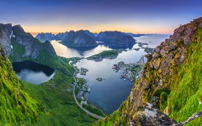 Picture Norway, Lofoten Islands, Lofoten, Bring in