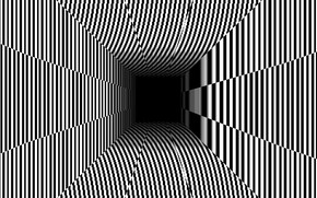 Picture Line, Background, The tunnel, Illusion, Optical illusion, Cheating, Illusion