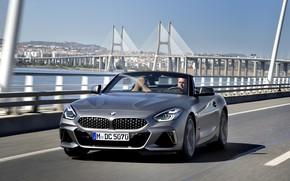 Picture bridge, grey, BMW, Roadster, BMW Z4, M40i, Z4, 2019, G29
