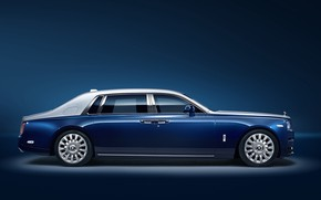 Picture Rolls-Royce, Phantom, side view, 2018, EWB Chengdu, Privacy Suite