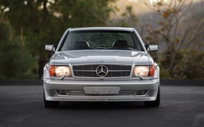 Picture Car, Mercedes - Benz, 560 SEC 6.0