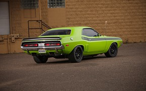 Picture Classic, Dodge Challenger, Coupe, Muscle car, Hemi, Vehicle