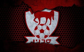 Picture wallpaper, sport, logo, football, Bnei Sakhnin