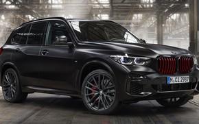 Picture tuning, BMW, crossover, Black Vermilion Edition, BMW X5 M50i, специальная серия, экстрерьер, черно-красный