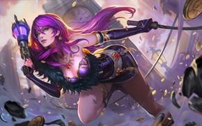 Picture Girl, Girl, Fantasy, Art, Art, League of Legends, Illustration, LOL, Character, Game Art, Bo Chen, …