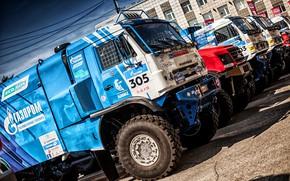 Picture Auto, Machine, Truck, Master, Russia, Reno, Russia, Kamaz, Rally, KAMAZ-master, Rally, Truck, KAMAZ, Sport, RedBull, …