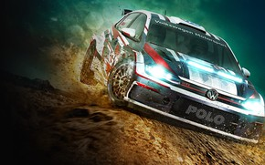 Picture Dirt, Rally, Polo GTI, Wolkswagen, codemasters, Dirt Rally 2.0