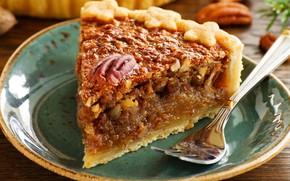 Picture pie, piece, filling