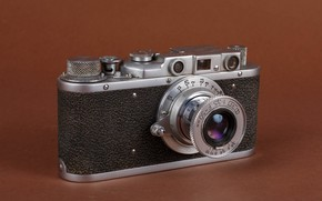 Picture photo, USSR, Fed, old camera