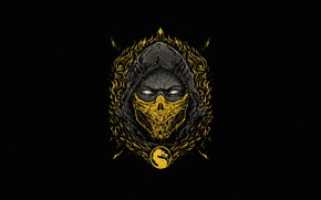 Picture Minimalism, Style, Logo, Warrior, Background, Logo, Fantasy, Scorpio, Fighter, Art, Art, Logo, Style, Fiction, Mortal …