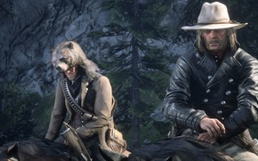 Picture adventure, Western, video game, Red Dead Redemption