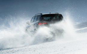 Picture snow, SUV, feed, Seat, Cupra, Ateca, 2019