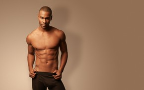 Picture background, guy, naked torso, tights