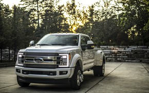 Picture Ford, LEDs, Parking, pickup, 4x4, 2018, 440 HP, Super Duty, F-450, Limited, V8, 6.7 L., …