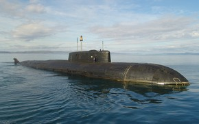 Picture submarine, Navy, the project 949A, the nuclear-powered ship