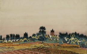 Picture 1916, Charles Ephraim Burchfield, Past Noon