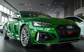 Picture Audi, Audi, green