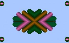 Picture color, gradient, figure