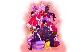 Picture cake, guys, Katekyo Hitman reborn, Teacher mafia Reborn