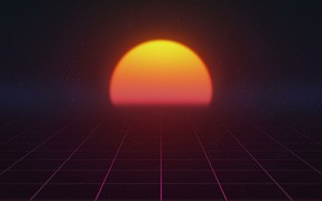 Picture The sun, Music, Star, Background, 80s, Neon, 80's, Synth, Retrowave, Synthwave, New Retro Wave, Futuresynth, …