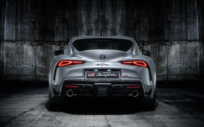Picture Toyota, rear view, Supra, 2019, Toyota GR Above, GR Above, A90