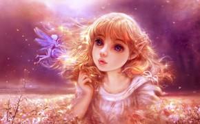 Picture nature, fairy, elf