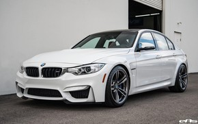 Picture White, BMW M3, Sedan, Alpine