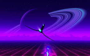 Picture Music, Planet, Ship, Background, Ring, Emotions, Synth, Retrowave, Synthwave, New Retro Wave, Futuresynth, Sintav, Retrouve, …