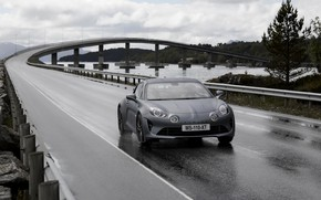 Picture road, coupe, Alpine, 2019, A110S