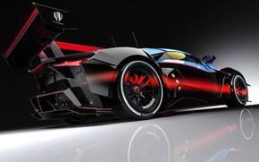 Picture Auto, Rendering, Supercar, Concept Art, Sports car, SuperSport, Transport & Vehicles, Benoit Fraylon, by Benoit …