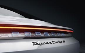 Picture Porsche, Turbo S, 2020, Taycan