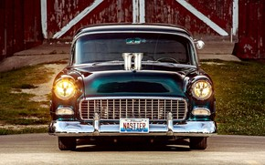 Picture Car, Bel Air, Coupe, Modified