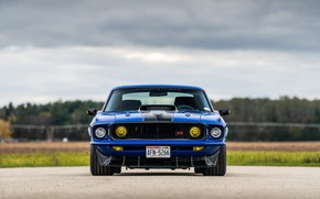 Picture Ford, 1969, Lights, Ford Mustang, Muscle car, Mach 1, Classic car, Sports car, Ford Mustang …