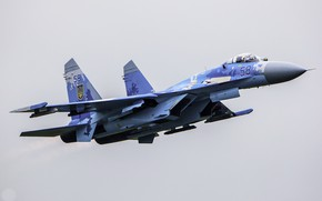 Picture Aalborg Air Force Base, Ukrainian Air Force, Su-27 Flanker