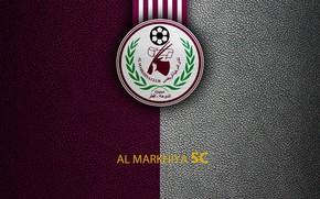 Picture wallpaper, sport, logo, football, Al-Markhiya