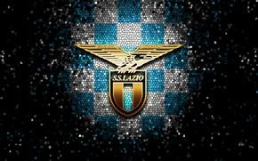 Picture wallpaper, sport, logo, football, Lazio, glitter, checkered
