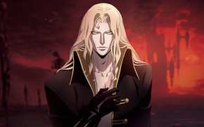 Picture look, male, Castlevania