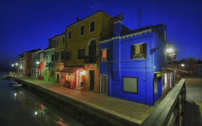 Picture night, home, Italy, Venice, Burano